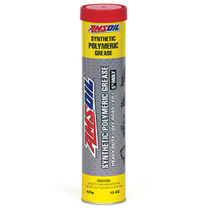 AMSOIL Synthetic Polymeric Grease is the best heavy equipment grease.