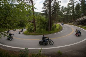 A good motorcycle safety tip is to practice cornering.