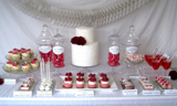Guest Dessert Table Feature from Sweden