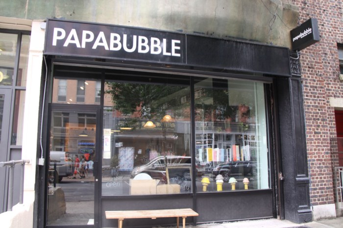 We recently trekked down to Little Italy to visit one of my favorite candy shops in NYC called Papabubble. We had a chance to make some candy with owners ...