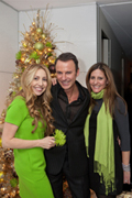 Behind the Scenes at Amy Atlas – Holiday Party in Colin Cowie's Home