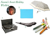 Naomi's Sweet Holiday Wish List