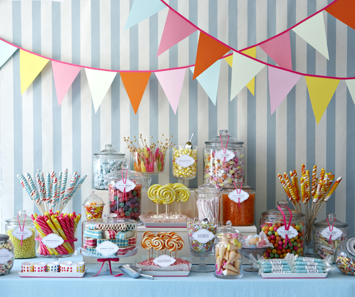 we designed this playful old fashioned candy shop dessert table for a bat mitzvah filled with nostalgic candy the table included old fashioned taffy