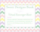 Sweet Designs Virtual Scavenger Hunt: Clue #2