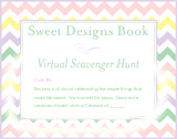 Sweet Designs Virtual Scavenger Hunt: Clue #6