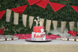 Western Themed Communion Guest Dessert Feature