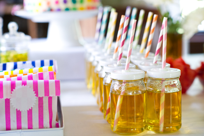Rainbows and Butterflies Girls Party Dessert Table