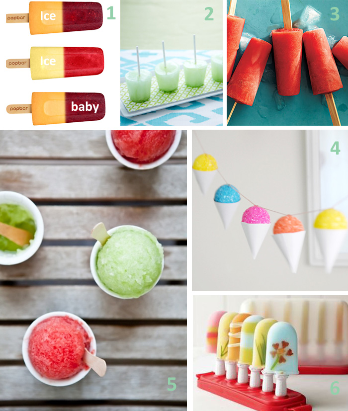 Ice Pops, Grantias and Sno Cones
