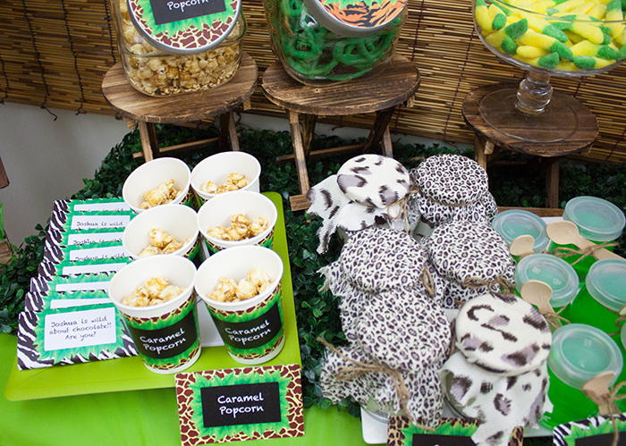 Jungle Themed Dessert Table