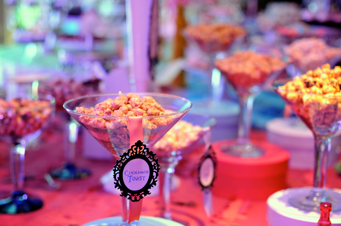 Alice in Wonderland Inspired Dessert Table for Girls Parties