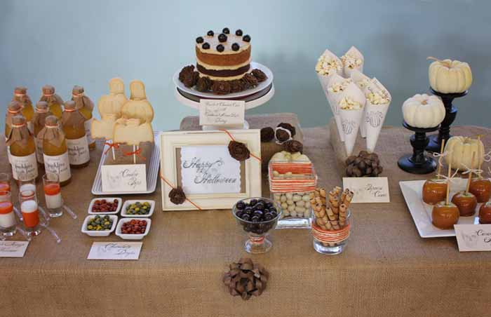 Halloween Dessert Table Ideas