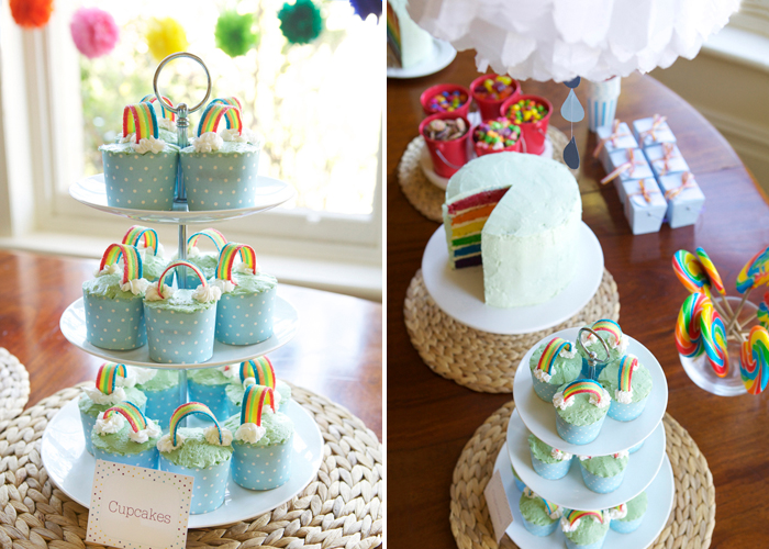 Rainbow Party for Girls Dessert Ideas