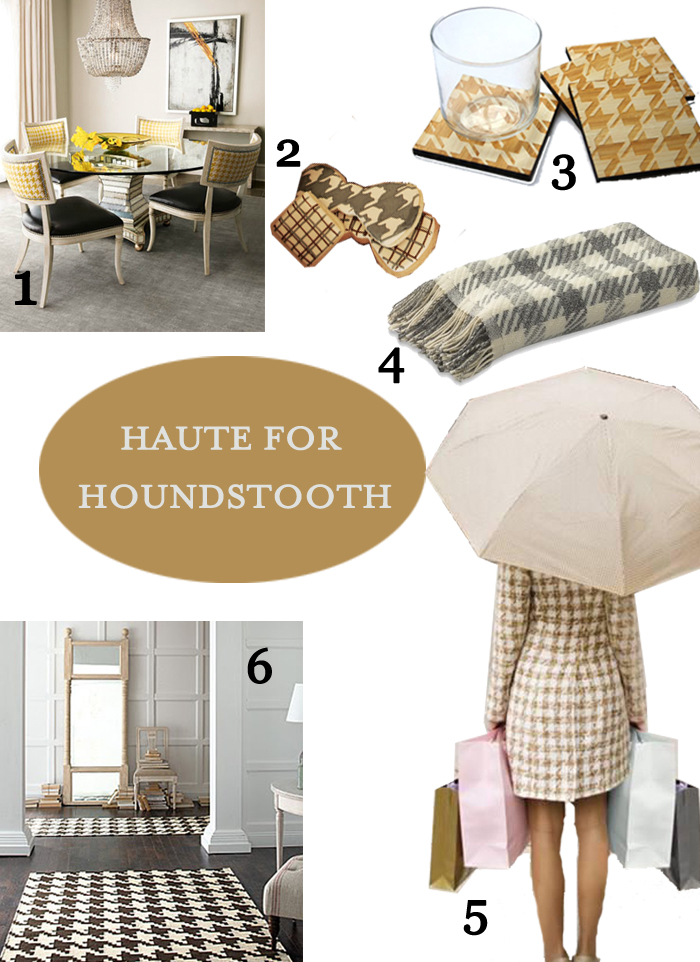 Pattern Board Houndstooth Great Finds