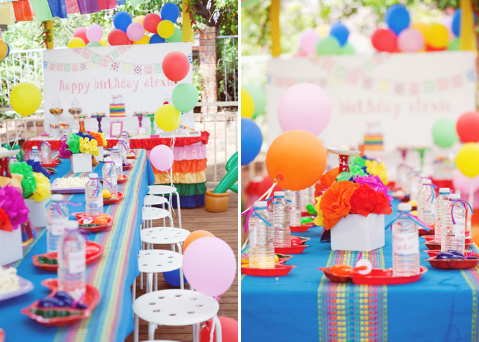 Colorful Mexican Party Cinco De Mayo inspiration