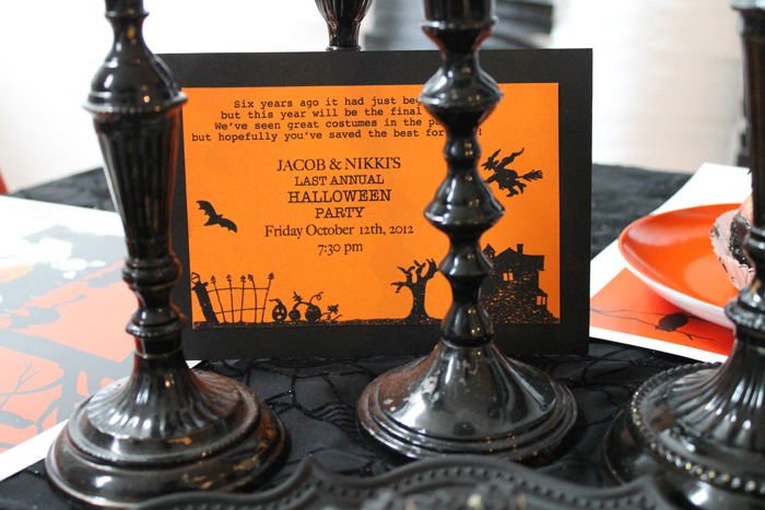 Halloween Party Ideas Invite