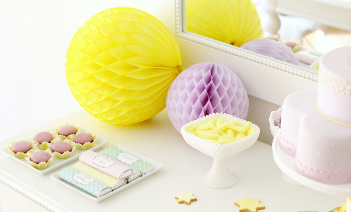 Yellow & Purple party for Spring