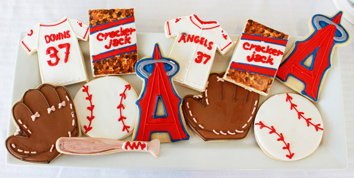 Baseball Party | Sugar Cookies