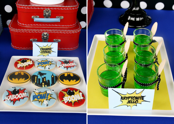 Superhero Party for Boys | Kryptonite Jello