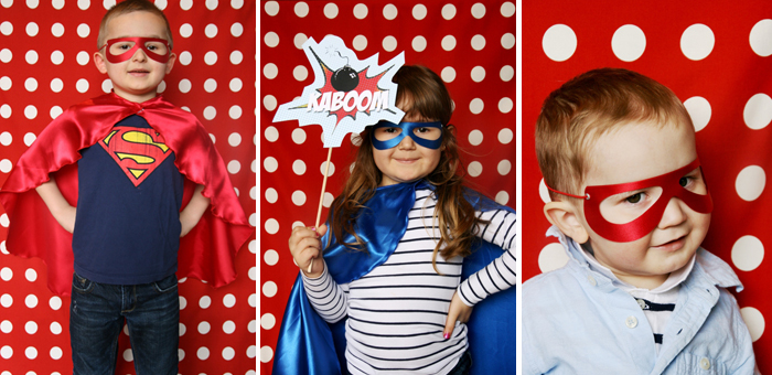 Superhero Birthday Party for Boys | Costumes