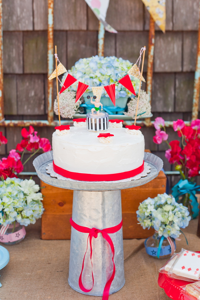 Carnival Inspired Dessert Table | Cake