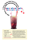 A Fizzy Drink that You'll Devour: Sour Cherriade Recipe