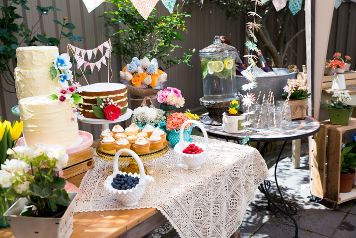Beautiful Garden Baby Shower Guest Dessert Feature Amy Atlas Events