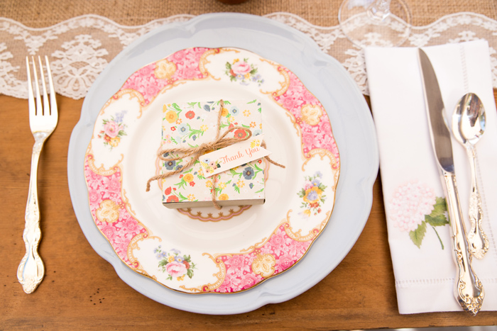 Beautiful Baby Shower | Place Setting