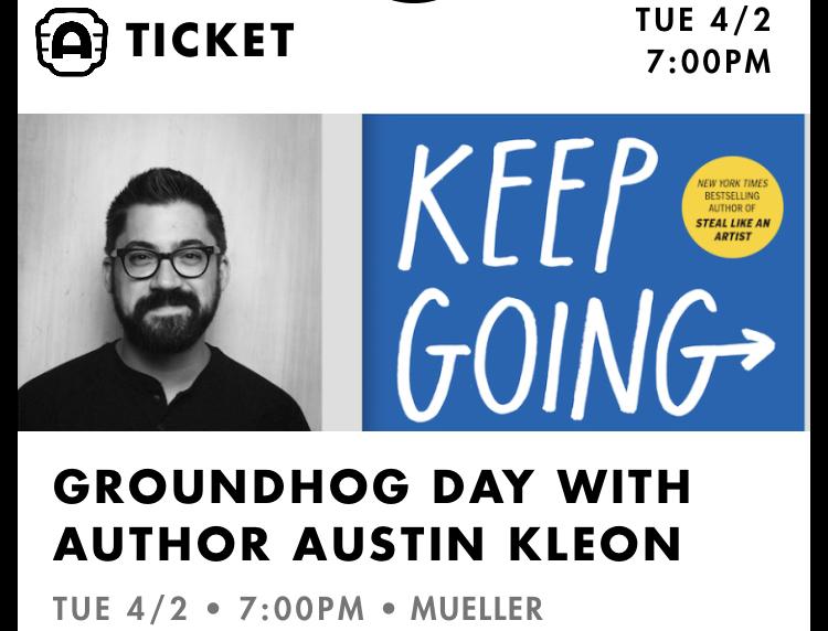 Alamo Drafthouse ticket for Keep Going tour