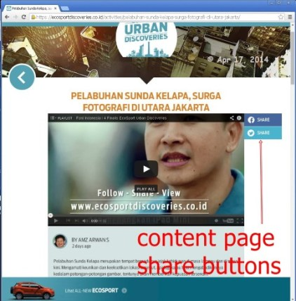 ecosport urban discoveries - 140417 - 06 - content page - share buttons (Custom)