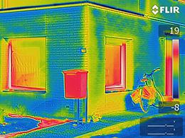 FLIR Ex: ideali per ispezioni termografiche su edifici