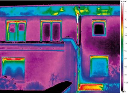 Immagine realizzata con una risoluzione di 320x240 pixel e una sensibilità termica < 50 mK.