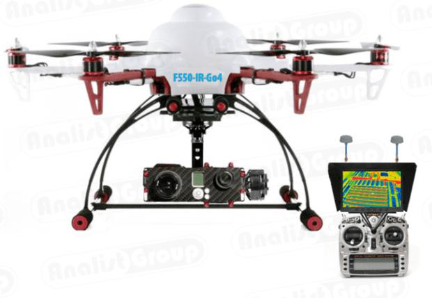 Rilievi Termografici con DRONE