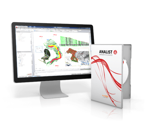 Analist 2015 Topographic Mapping Software
