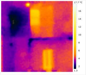 FLIR i3: risoluzione 60x60 pixels