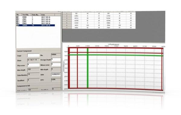 Software DR3000 W incluso nel Pacometro