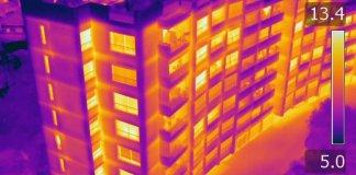 Immagine termica Radiometrica