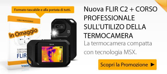FLIR C2 da oggi disponibile in pronta consegna