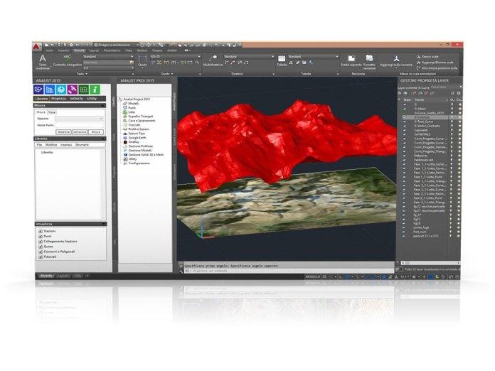 Analist 2016 - modelli topografici digitali adatti alle stampanti 3D