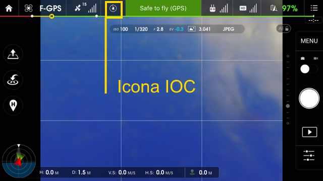 Icona di controllo IOC