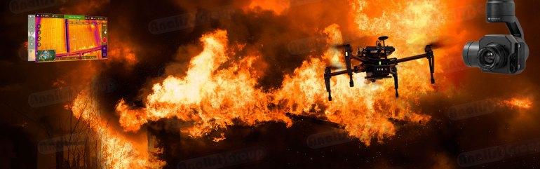 Ispezioni termografiche con drone Matrice 100