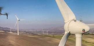 Ispezioni Pale Eoliche con drone DJI Matrice 100