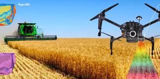 Drone Matrice 100 con TETRACAM per Agricoltura di Precisione