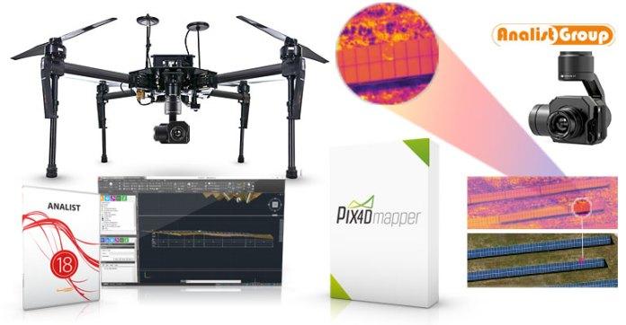 Soluzione Completa per la Termografia con DRONE