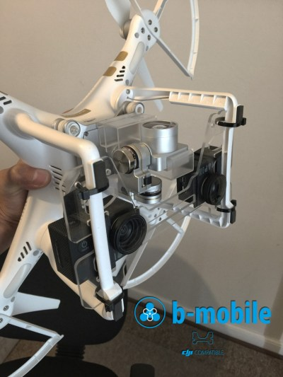 b-mobile for Phantom 2 and 3 Drones
