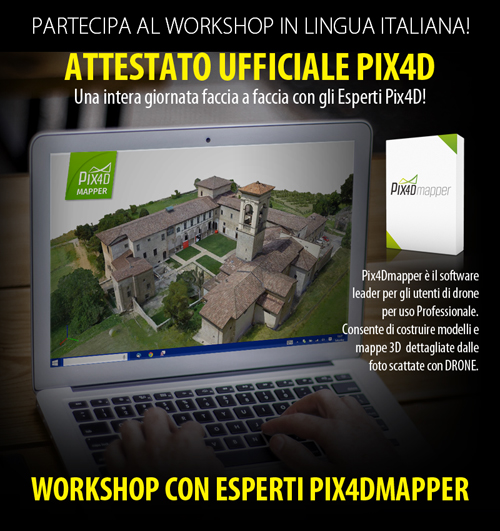 Workshop Pix4Dmapper