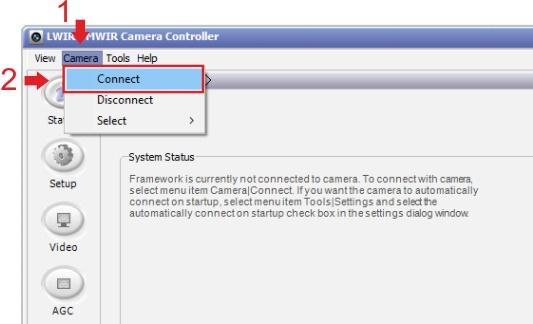 Come configurare correttamente la TAU 2 con Thermal Capture