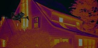 Parrot Bebop Pro Thermal drone ispezioni termografiche