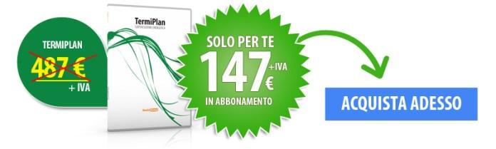 software certificazione energetica prezzo