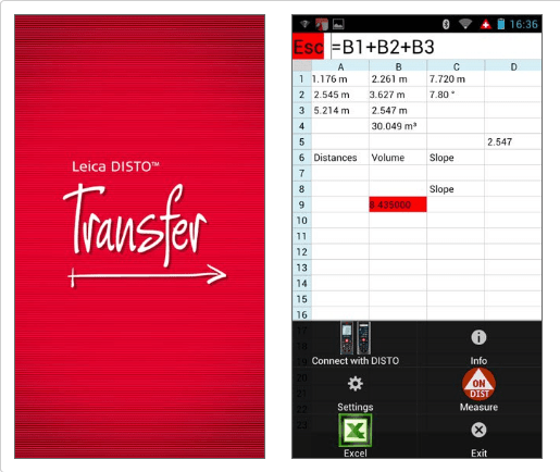 Leica DISTO Transfer Software Bluetooth Leica Geosystems