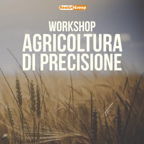 Workshop Agricoltura Precisione